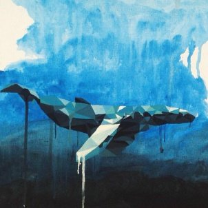 myForestBridge — Canvas • Whale Acrylic 30x40 Prague, Czech republic — 2015